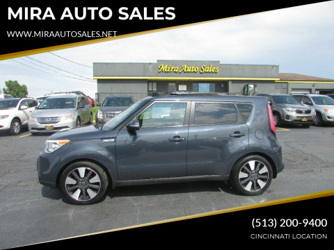 2014 Kia Soul for sale at MIRA AUTO SALES in Cincinnati OH