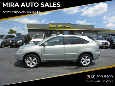2007 Lexus RX 350 for sale at MIRA AUTO SALES in Cincinnati OH