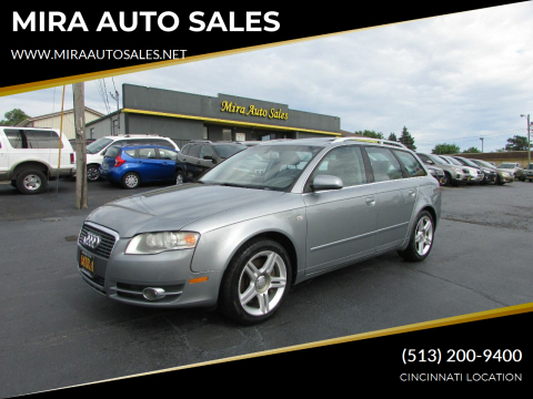 2007 Audi A4 for sale at MIRA AUTO SALES in Cincinnati OH