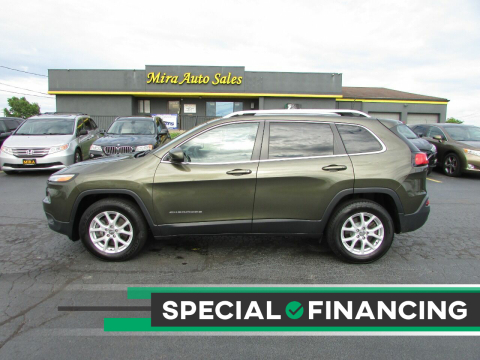 2016 Jeep Cherokee for sale at MIRA AUTO SALES in Cincinnati OH