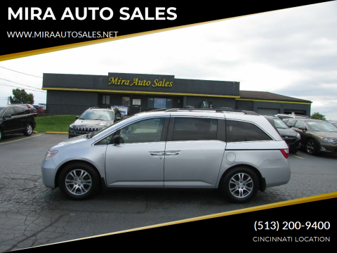 2012 Honda Odyssey for sale at MIRA AUTO SALES in Cincinnati OH