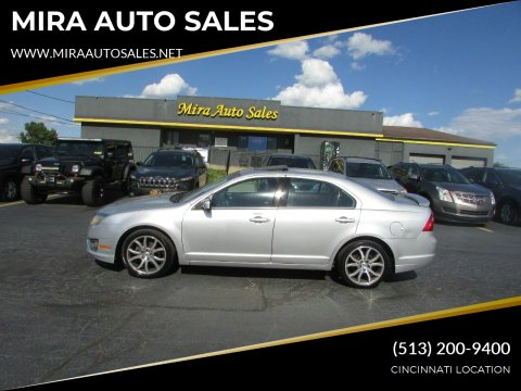 2012 Ford Fusion for sale at MIRA AUTO SALES in Cincinnati OH