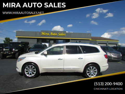 2013 Buick Enclave for sale at MIRA AUTO SALES in Cincinnati OH
