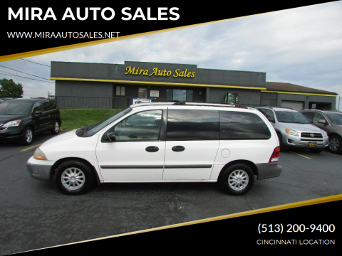 2001 Ford Windstar for sale at MIRA AUTO SALES in Cincinnati OH