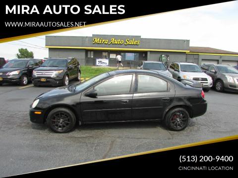 2005 Dodge Neon for sale at MIRA AUTO SALES in Cincinnati OH