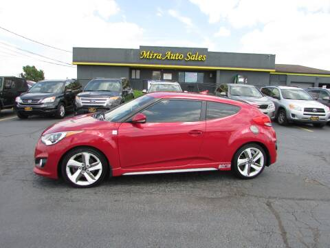 2014 Hyundai Veloster for sale at MIRA AUTO SALES in Cincinnati OH