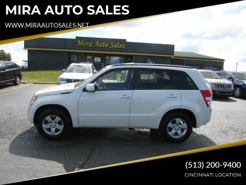 2008 Suzuki Grand Vitara for sale at MIRA AUTO SALES in Cincinnati OH