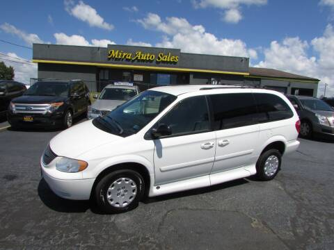 2004 Chrysler Town and Country for sale at MIRA AUTO SALES in Cincinnati OH