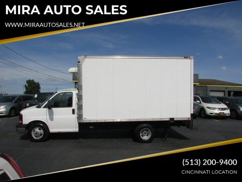 2012 GMC Savana Cutaway for sale at MIRA AUTO SALES in Cincinnati OH