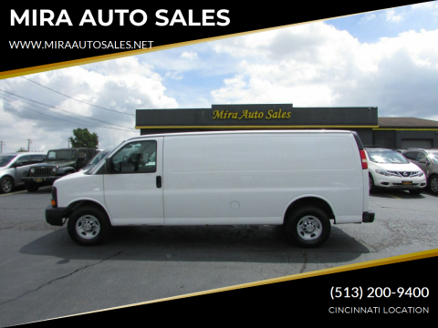 2012 Chevrolet Express Cargo for sale at MIRA AUTO SALES in Cincinnati OH