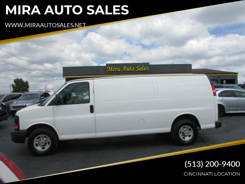 2013 Chevrolet Express Cargo for sale at MIRA AUTO SALES in Cincinnati OH