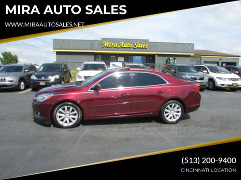 2015 Chevrolet Malibu for sale at MIRA AUTO SALES in Cincinnati OH