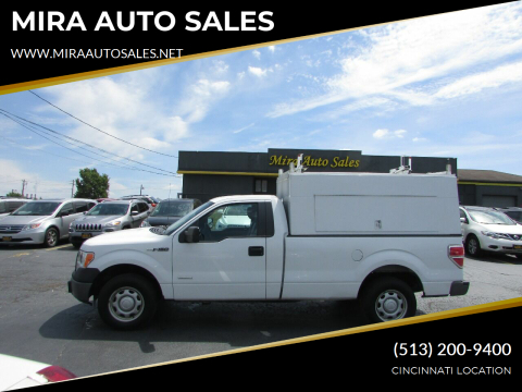 2012 Ford F-150 for sale at MIRA AUTO SALES in Cincinnati OH