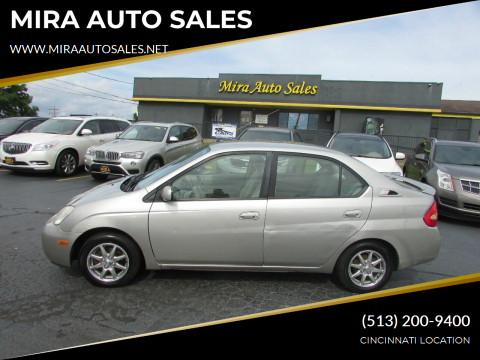 2003 Toyota Prius for sale at MIRA AUTO SALES in Cincinnati OH