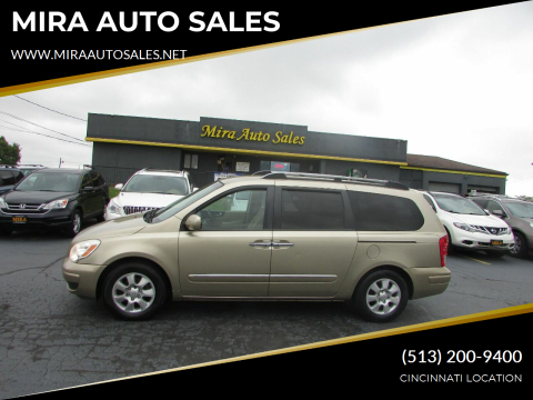 2007 Hyundai Entourage for sale at MIRA AUTO SALES in Cincinnati OH
