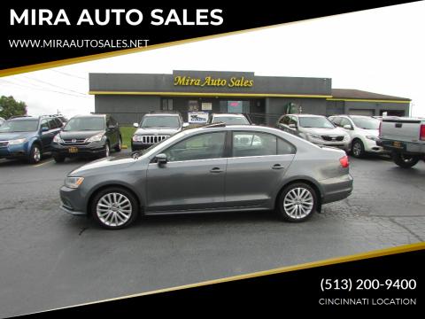2015 Volkswagen Jetta for sale at MIRA AUTO SALES in Cincinnati OH