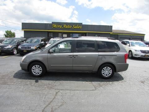 2012 Kia Sedona for sale at MIRA AUTO SALES in Cincinnati OH