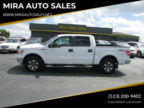 2010 Ford F-150 for sale at MIRA AUTO SALES in Cincinnati OH