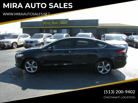 2014 Ford Fusion for sale at MIRA AUTO SALES in Cincinnati OH