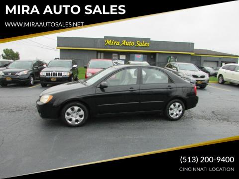 2006 Kia Spectra for sale at MIRA AUTO SALES in Cincinnati OH