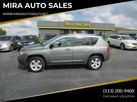 2011 Jeep Compass for sale at MIRA AUTO SALES in Cincinnati OH
