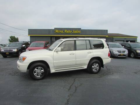 2001 Lexus LX 470 for sale at MIRA AUTO SALES in Cincinnati OH