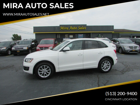 2012 Audi Q5 for sale at MIRA AUTO SALES in Cincinnati OH
