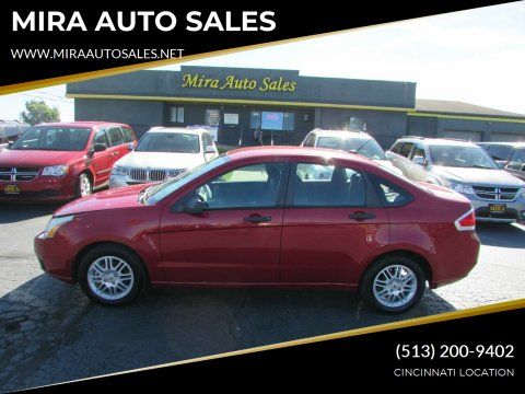 2011 Ford Focus for sale at MIRA AUTO SALES in Cincinnati OH