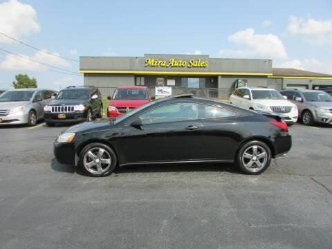 2007 Pontiac G6 for sale at MIRA AUTO SALES in Cincinnati OH