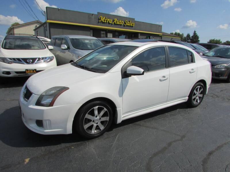 2012 Nissan Sentra for sale at MIRA AUTO SALES in Cincinnati OH