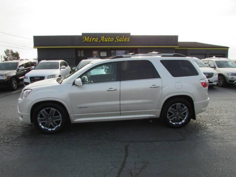 2011 GMC Acadia for sale at MIRA AUTO SALES in Cincinnati OH
