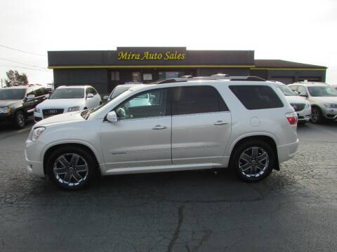 2011 GMC Acadia for sale at MIRA AUTO SALES in Cincinnati OH