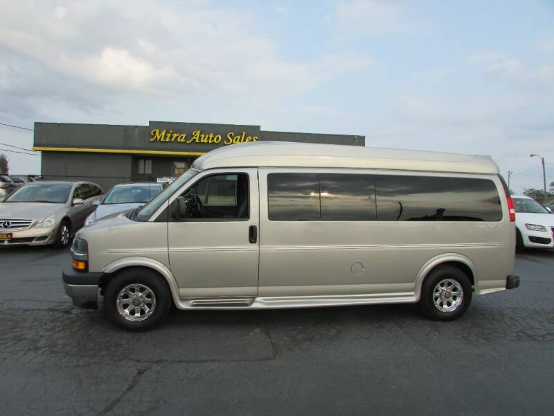 2018 Chevrolet Express Cargo for sale at MIRA AUTO SALES in Cincinnati OH