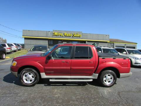 2002 Ford Explorer Sport Trac for sale at MIRA AUTO SALES in Cincinnati OH