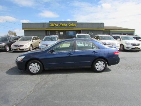 2004 Honda Accord for sale at MIRA AUTO SALES in Cincinnati OH