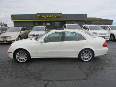 2008 Mercedes-Benz E-Class for sale at MIRA AUTO SALES in Cincinnati OH