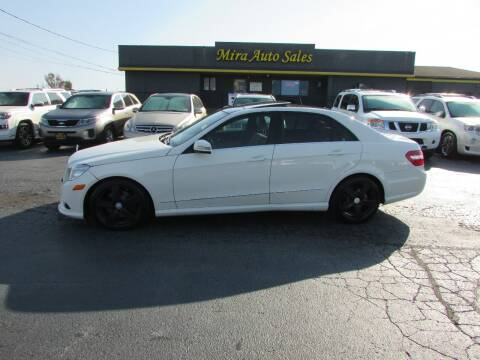 2010 Mercedes-Benz E-Class for sale at MIRA AUTO SALES in Cincinnati OH