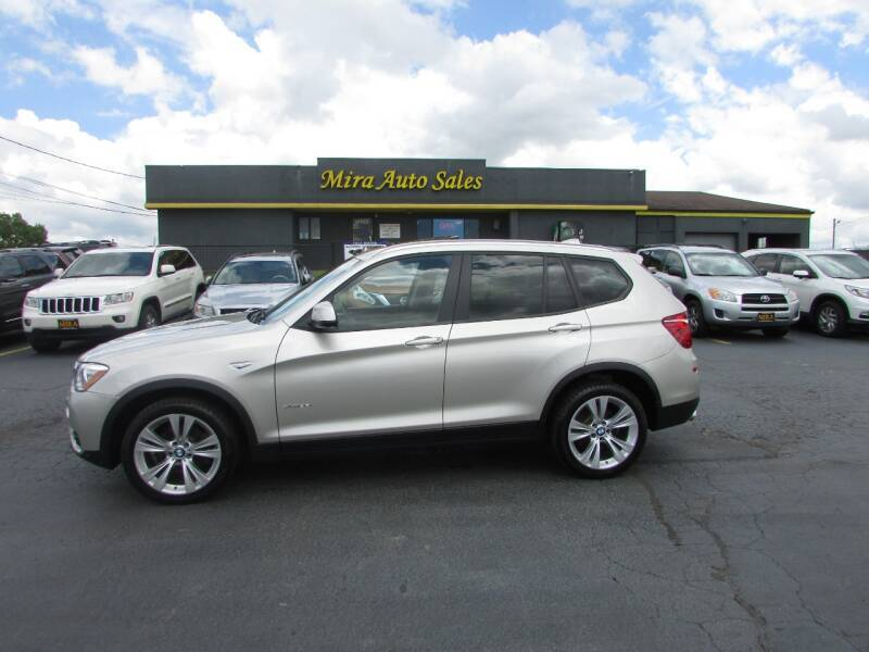 2015 BMW X3 for sale at MIRA AUTO SALES in Cincinnati OH