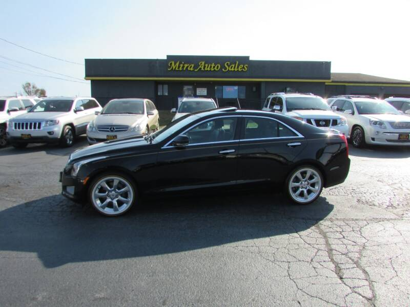 2013 Cadillac ATS for sale at MIRA AUTO SALES in Cincinnati OH