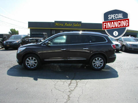 2015 Buick Enclave for sale at MIRA AUTO SALES in Cincinnati OH