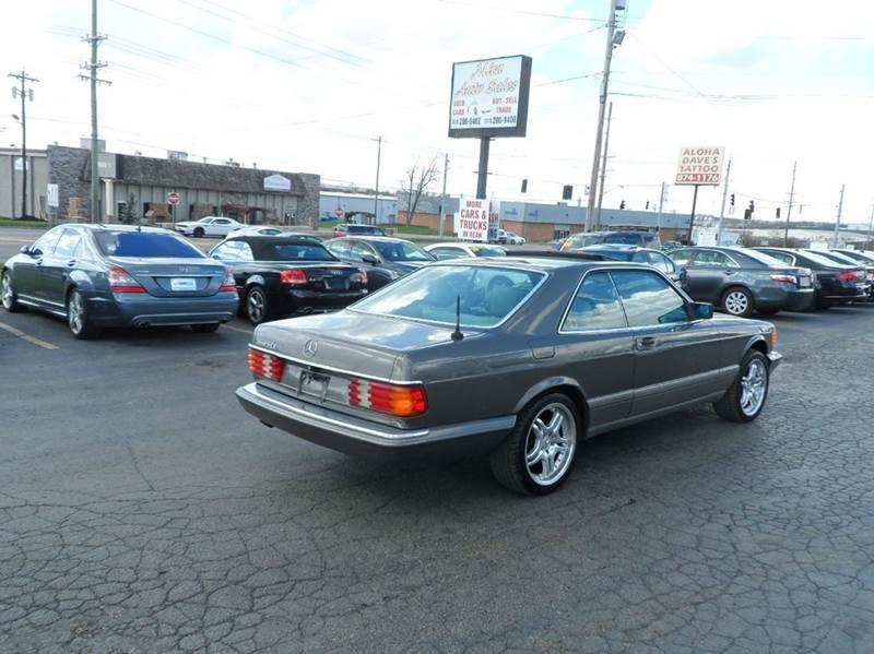 1990 MercedesBenz 560Class 560 SEC 2dr Coupe In Cincinnati OH