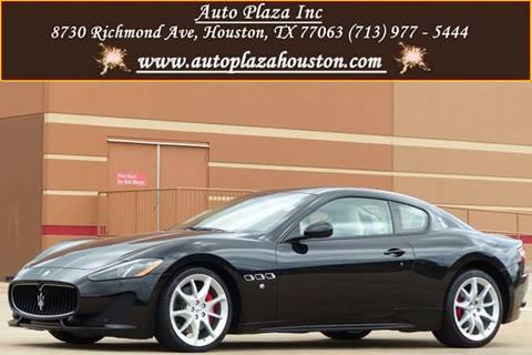 2013 Maserati GranTurismo for sale in Houston, TX