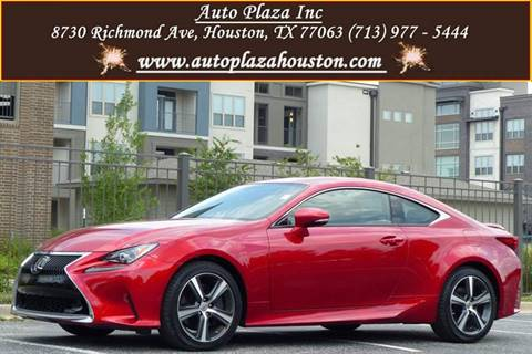 2017 Lexus RC 200t for sale in Houston, TX