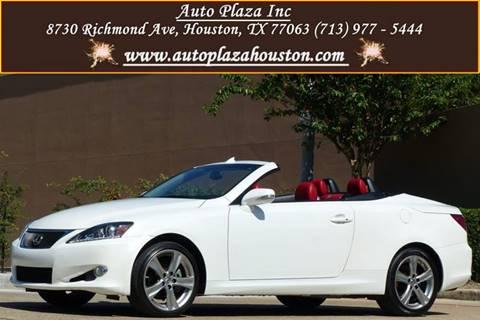 2014 Lexus IS 250C for sale in Houston, TX