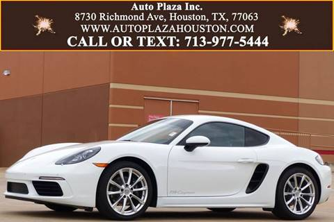 2018 Porsche 718 Cayman for sale in Houston, TX