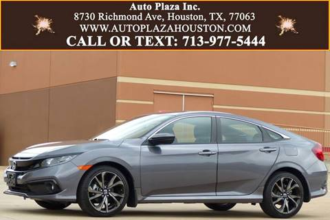 2019 Honda Civic for sale in Houston, TX