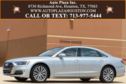2019 Audi A8 L for sale in Houston, TX