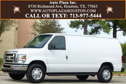 2014 Ford E-Series Cargo for sale in Houston, TX