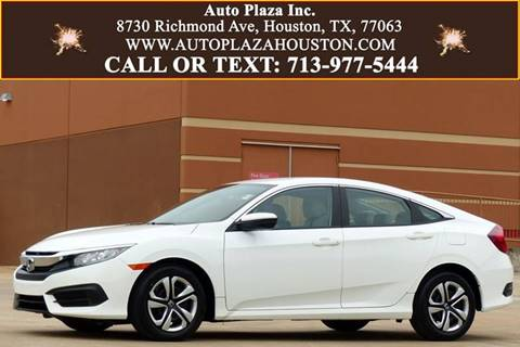 2016 Honda Civic for sale in Houston, TX