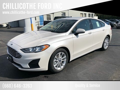 2020 Ford Fusion for sale in Chillicothe, MO